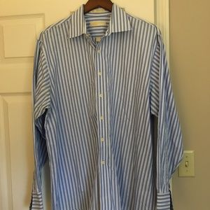 Michael Kors Men's Striped Button-Down NWOT